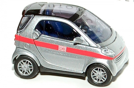Smart City Coupe Carsharing DB silber