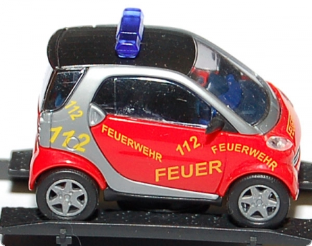 Smart City Coupe Feuerwehr 112