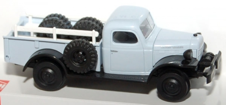 Dodge Power Wagon Schienenwagen
