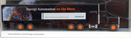 Siemens-Auftragsmodell Peterbilt Energy Automation on the Move
