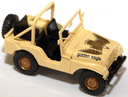Jeep CJ-5 Golden Eagle beige