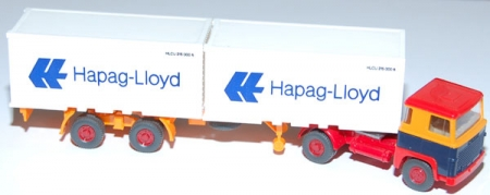 Scania 111 Containersattelzug Hapag-Lloyd