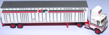 Consolidated Freightways 48`Wedge Trailer & Freightliner