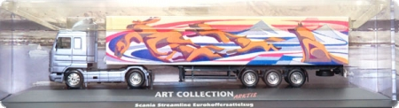 Scania Streamliner Koffersattelzug Art Collektion Arktis