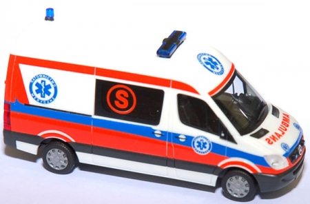 Mercedes-Benz Sprinter 06 RTW Ambulans Wroclaw (S)