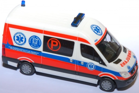 Mercedes-Benz Sprinter 06 RTW Ambulans Krakow (P)