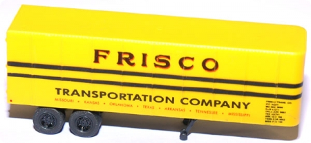 Van Trailer 32` Frisco Transportation Company