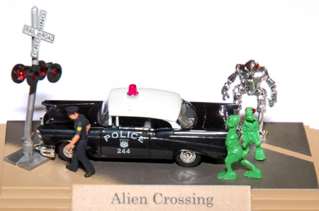 Alien Crossing Police 7646