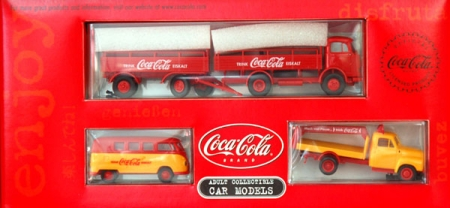 Coca-Cola Transporter Set