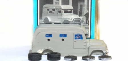 Armored Car - Resin Bausatz