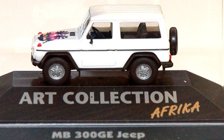 Mercedes-Benz 300 GE Jeep Art Collection Afrika
