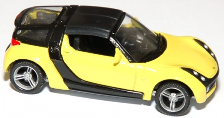 Smart Roadster Coupe gelb