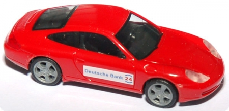 Porsche 911 Carrera (996) Facelift Deutsche Bank 24 rot