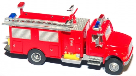 Feuerwehr Fire department pump and hose truck 218117