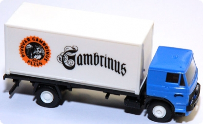 Liaz Container-LKW 20 ft. Gambrinus