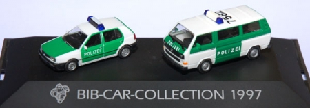 Michelin BIB-Car-Collection 1997 VW Golf III 5türig, VW T3 Bus P