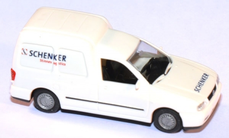VW Caddy Schenker Stinnes Logistics weiß