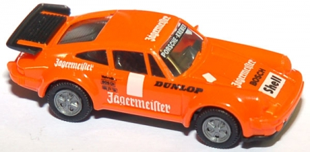 Porsche 930 Turbo Jägermeister orange