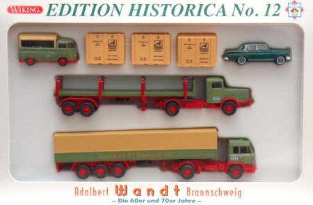 Post Museums Shop Edition Historica No. 12 Adalbert Wandt Brauns
