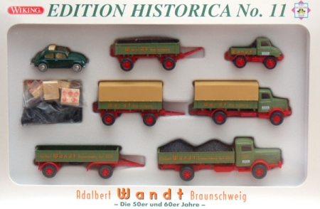 Post Museums Shop Edition Historica No. 11 Adalbert Wandt Brauns