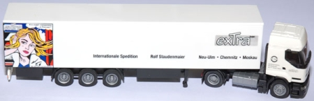 Renault Koffersattelzug Extra Internationale Spedition