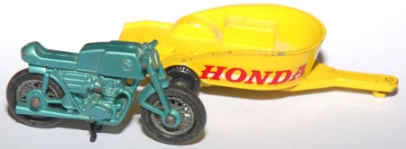 38D Honda Motorcycle and Trailer