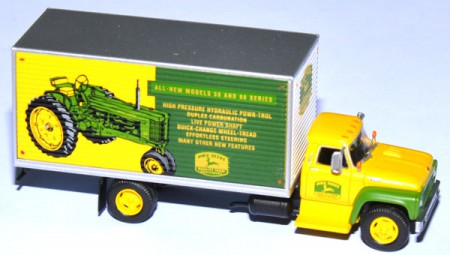 Ford F-850 Box Van John Deere