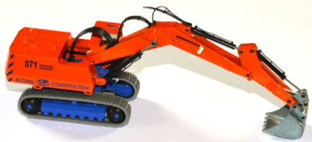 Großbagger Caterpilar M 500 H Global Construction orange