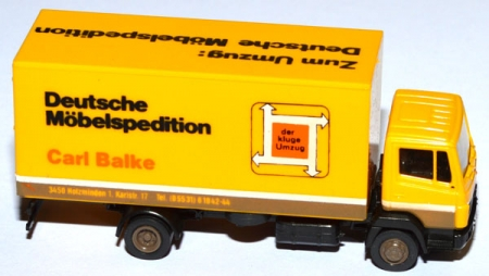 Mercedes-Benz 814 Koffer-LKW Deutsche Möbelspedition Carl Balke
