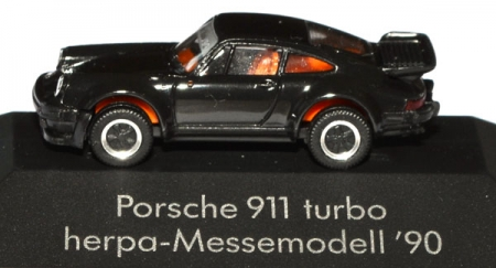 Porsche 911 Turbo Messemodell 90 schwarz