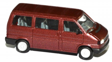 shop f r gebrauchte modellautos vw t4 bus caravelle rotbraun. Black Bedroom Furniture Sets. Home Design Ideas