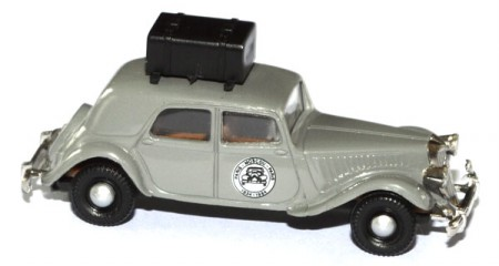 Citroen 15 SIX Paris-Moscou-Paris 1934 - 1984 grau