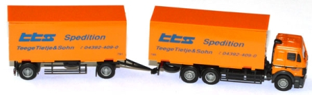 Mercedes-Benz SK 88 Wechselkoffer-Lastzug tts Spedition orange