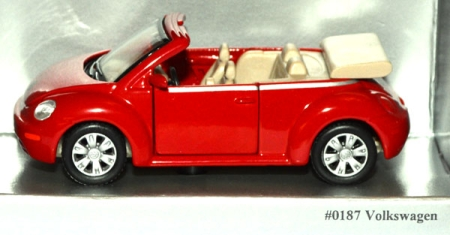 VW New Beetle Cabriolet 1997 rot