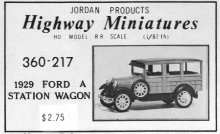 1929 Ford A Station Wagon