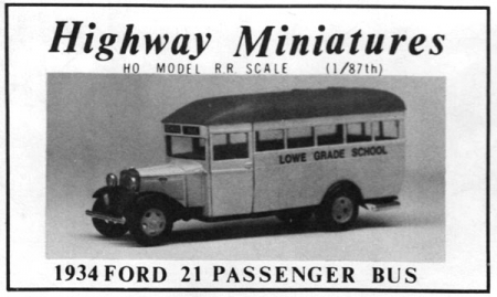 1934 Ford 21 Passenger Bus