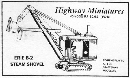 Erie B-2 Steam Shovel