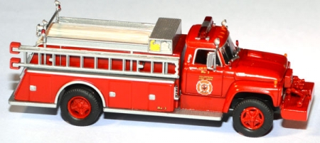 Ford F-850 Fire Truck Volunteer Fire #3 Feuerwehr rot