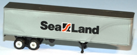 Piggyback Trailer 40` Sealand silber