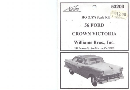 Ford Crown Victoria 1956 Kit