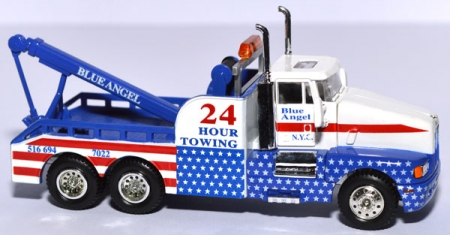 Kenworth Tow Truck Blue Angel