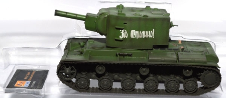 Panzer KV-2 tank with Russian Green