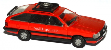 Audi 200 Avant Audi-Expedition rot