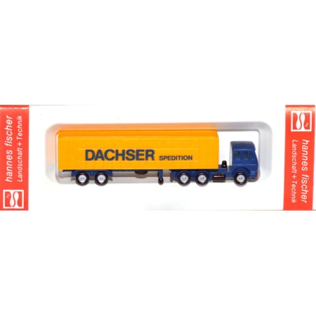 Container Sattelzug Spedition Dachser
