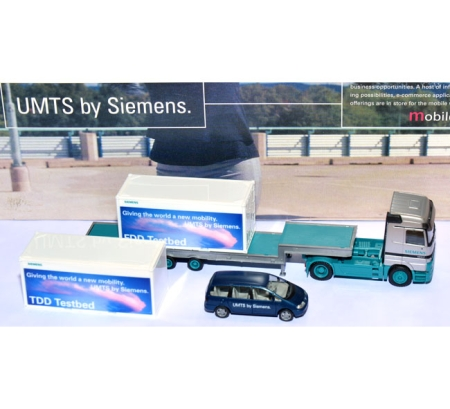 Mercedes-Benz Actros + VW Sharan Siemens UMTS - Set