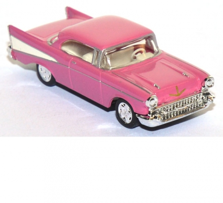 Chevrolt Bel Air ´57 Sport Coupe pink