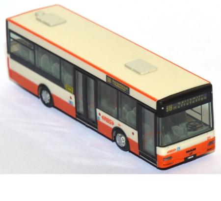 VK Modelle Büssing 1 1//2 Decker Omnibus Bus Stadtwerke Offenbach 1//87 H0 SoMo