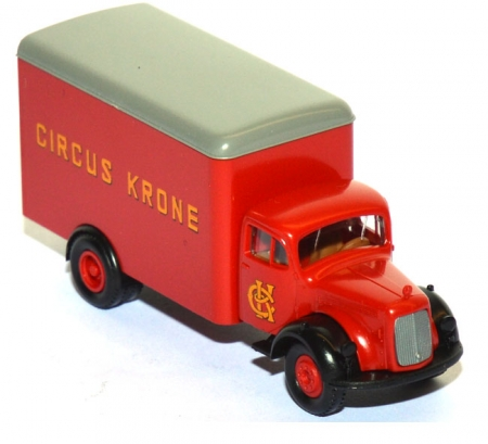 Mercedes-Benz L 311 Koffer-LKW Circus Krone rot