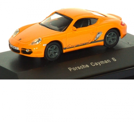 Porsche Cayman S orange