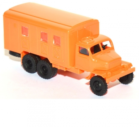 Praga V3S Koffer-LKW  orange